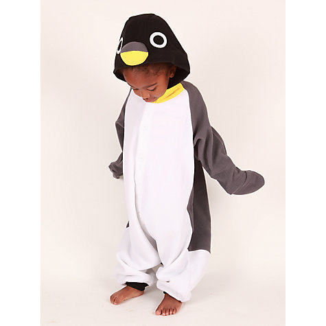 Buy Kigu Penguin Onesie, Grey Online at johnlewis.com