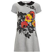 Buy Yumi Girl Floral Jersey Dress Online at johnlewis.com