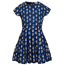 Buy Yumi Girl Owl Dress, Navy Blue Online at johnlewis.com
