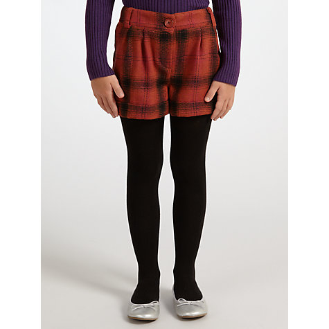 Buy John Lewis Girl Checked Tweed Shorts Online at johnlewis.com