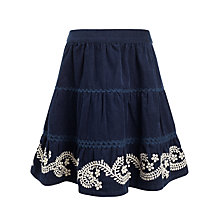 Buy John Lewis Girl Embroidered Skirt Online at johnlewis.com