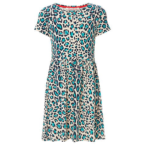 Buy Loved & Found Leopard Print Drop Waist Dress, Multi Online at johnlewis.com