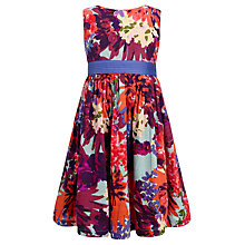 Buy John Lewis Girl Printed Prom Dress, Multi Online at johnlewis.com