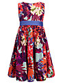 John Lewis Girl Printed Prom Dress, Multi