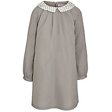 Buy John Lewis Girl Star A-Line Tunic Dress, Grey Online at johnlewis.com