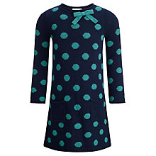 Buy John Lewis Girl Spot Knit Dress Online at johnlewis.com