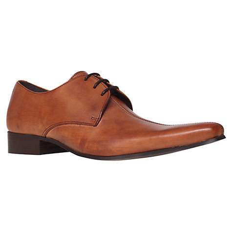 Buy KG by Kurt Geiger Windsor Seam Leather Derby Shoes Online at johnlewis.com