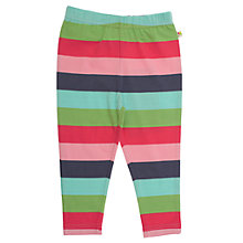 Buy Frugi Baby Organic Cotton Stripe Leggings, Multi Online at johnlewis.com