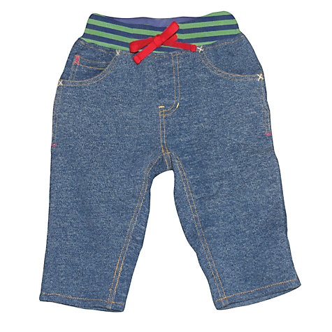 Buy Frugi Baby Tractor Jeans, Denim Online at johnlewis.com