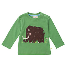 Buy Frugi Baby Woolly Mammoth, Green Online at johnlewis.com