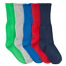 Buy John Lewis Roll Top Socks, Multi Online at johnlewis.com