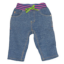 Buy Frugi Baby Organic Cotton Henny Jeans, Blue Online at johnlewis.com
