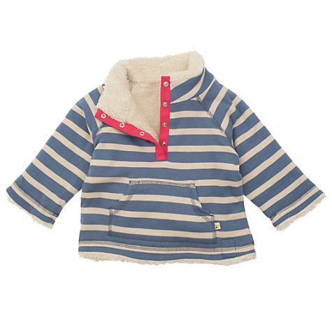 Buy Frugi Baby Reversible Fleece Online at johnlewis.com