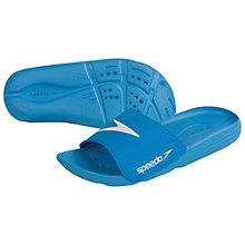 Buy Speedo Boys' Watersports Slipper, Blue Online at johnlewis.com