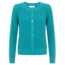 Buy Collection WEEKEND by John Lewis Waffle Stitch Cardigan Online at johnlewis.com