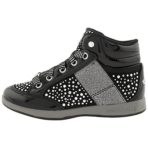 Buy Lelli Kelly Black Stud California Boots, Black Patent Online at johnlewis.com