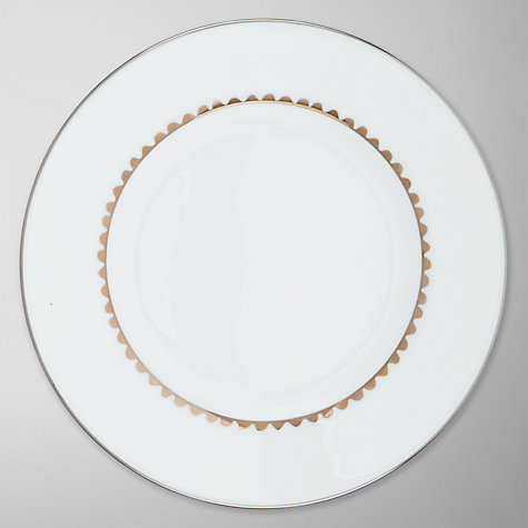 Buy Vera Wang for Wedgwood Flirt Plate, Silver Online at johnlewis.com