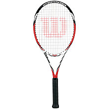 Buy Wilson Steam 105S Tennis Racket Online at johnlewis.com