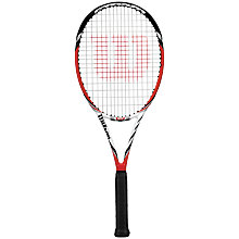Buy Wilson Steam 99S Tennis Racket Online at johnlewis.com