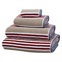 Buy Coastal Cranmore Stripe Towels Online at johnlewis.com
