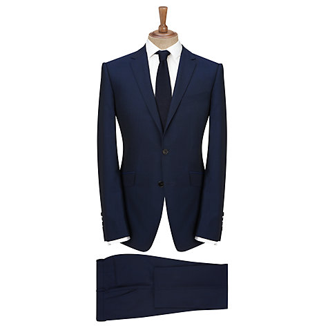 Buy Kin by John Lewis Stamford Tonic Slim Fit Suit Trousers, Midnight Blue Online at johnlewis.com