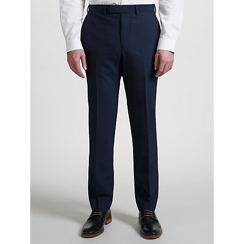 Buy Kin by John Lewis Slim Fit Stamford Tonic Suit Trousers, Midnight Blue Online at johnlewis.com