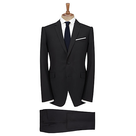 Buy Kin by John Lewis Merritt Pindot Suit Trousers, Black Online at johnlewis.com