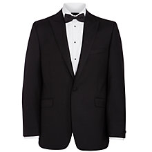 Buy John Lewis Tailored Peak Lapel Dress Suit Jacket, Black Online at johnlewis.com