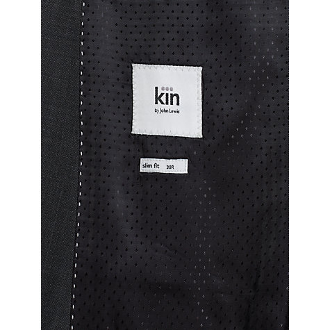 Buy Kin by John Lewis Stamford Tonic Suit Jacket, Slate Online at johnlewis.com