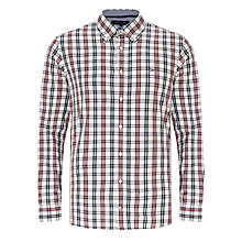 Buy Tommy Hilfiger Henry Check Long Sleeve Shirt Online at johnlewis.com
