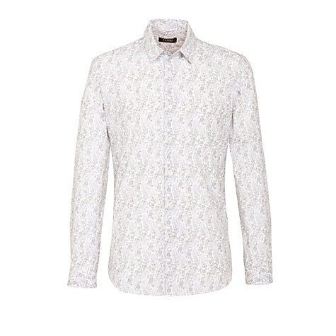 Buy Farhi by Nicole Farhi Paisley Print Shirt Online at johnlewis.com