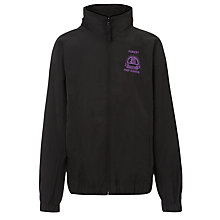 Buy Forest Preparatory School Unisex Tracksuit Top, Black Online at johnlewis.com