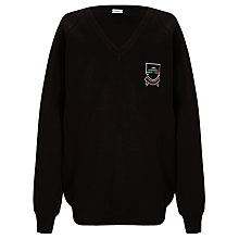 Buy Bungay High School Unisex Jumper, Black Online at johnlewis.com