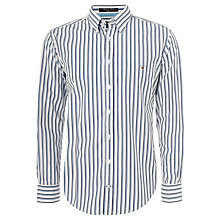 Buy Gant Dealmaker Poplin Stripe Long Sleeve Shirt Online at johnlewis.com