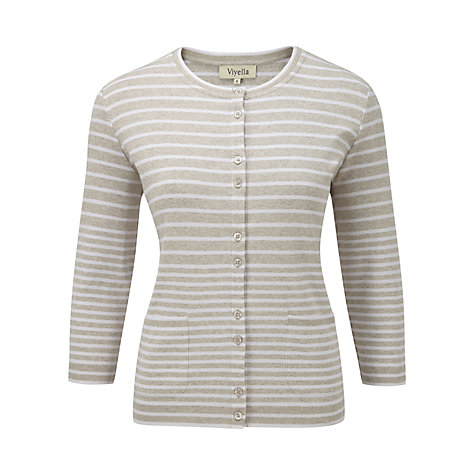 Buy Viyella Self Start Trim Cardigan Online at johnlewis.com