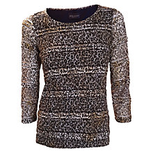 Buy James Lakeland Leopard Print Top, Multi Online at johnlewis.com