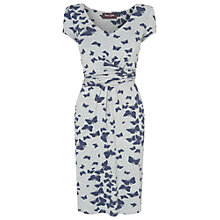 Buy Phase Eight Mazarine Dress, Grey/Navy Online at johnlewis.com