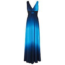 Buy Phase Eight Dip Dyed Maxi Dress, Blue Online at johnlewis.com