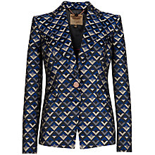 Buy Ted Baker Calsta Jacquard Blazer Online at johnlewis.com