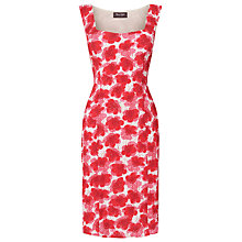 Buy Phase Eight Anenome Poppy Flower Print Dress, Poppy Online at johnlewis.com
