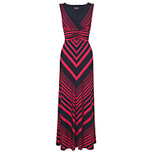 Buy Phase Eight Striped Maxi Dress, Cobalt/Coral Online at johnlewis.com