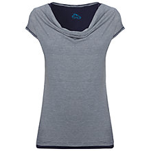 Buy White Stuff Starlet Double Layer Cotton T-Shirt, Navy Online at johnlewis.com