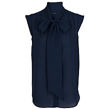 Buy French Connection Katherine Blouse, Navy Online at johnlewis.com
