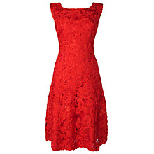 Buy Phase Eight Flavia Ribbon Tape Dress, Poppy Online at johnlewis.com