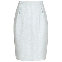 Buy Reiss Paperbag Waist Skirt, Pale Blue Online at johnlewis.com