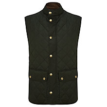 Buy Barbour Lowerdale Mediumweight Quilted Polarfleece Gilet Online at johnlewis.com