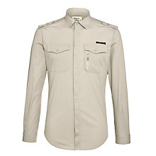 Buy Diesel Siranella Shirt, Grey Online at johnlewis.com