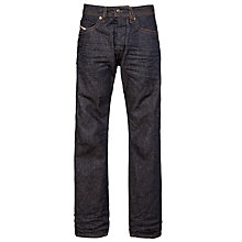 Buy Diesel Braddom Straight 820N Raw Straight Jeans, Slub Wash Online at johnlewis.com