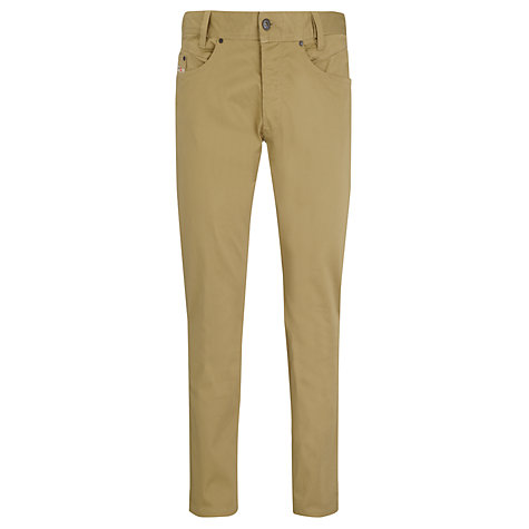 Buy Diesel Iakop Stretch Slim Fit Trousers Online at johnlewis.com