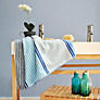 Buy Designers Guild Olsson Towels, Cobalt Online at johnlewis.com